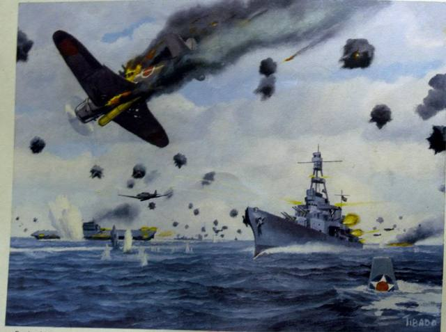 British and US navies halt the Japanese naval advance in the central Pacific at Midway.