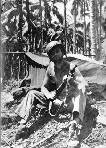US troops halt the Japanese island-hopping advance towards Australia at Guadalcanal in the Solomon Islands