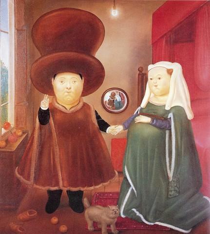 Fernando Botero - Les Arnolfini