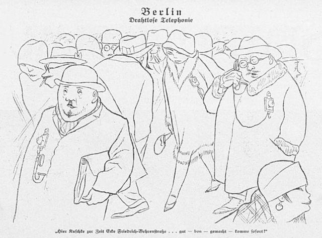 Karl Arnold Cartoon