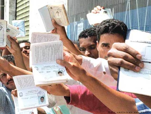 Brasil: Recorde de Desemprego