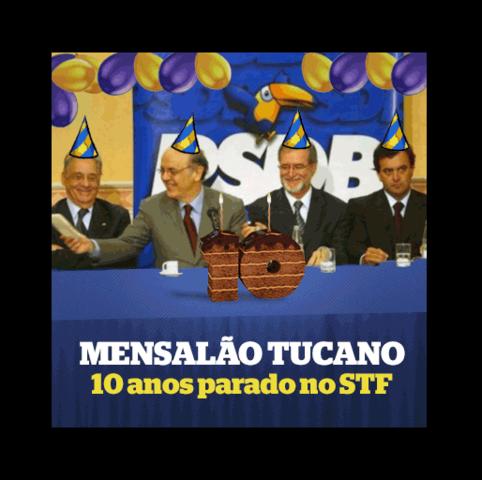 Mensalão PSDB vira Pizza depois de 11 anos engavetado