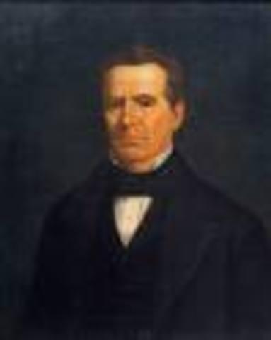 Anson Jones becomes President of the Republic