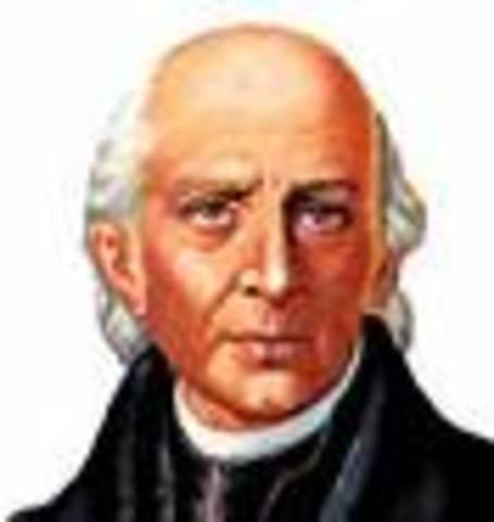 Father Hidalgo Tries Re-establishing the Missions