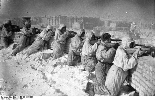 The Battle of Stalingrad won