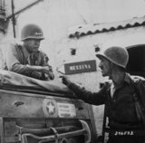 German and Italian forces surrender in North Africa