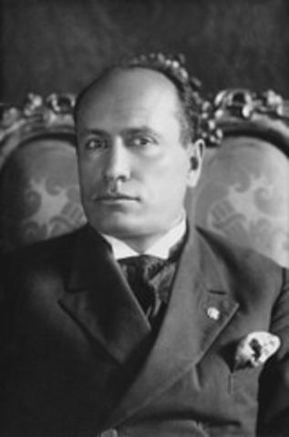 Mussolini Deposed