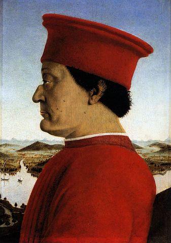Piero della Francesca - Le duc d'Urbino Frédéric III de Montefeltro