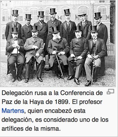 Conferencias de la Paz en la Haya
