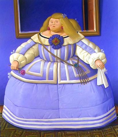Fernando Botero - D'après Velasquez