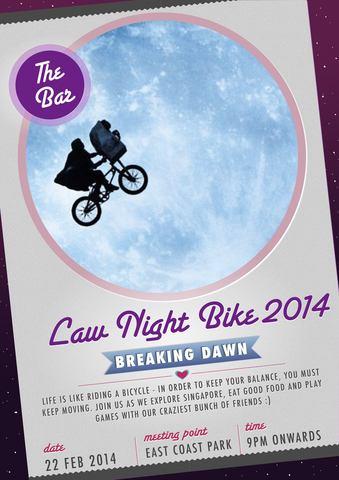 Law Night Bike 2014: Breaking Dawn