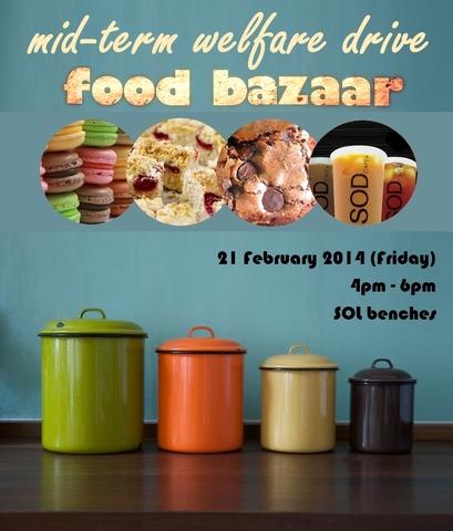 Mid-Term Welfare Drive and Food Bazaar