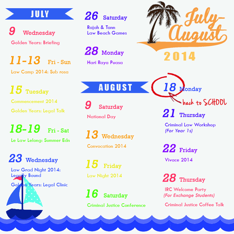 Launch of the Summer Events Calendar