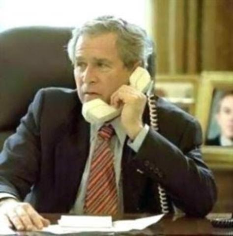 G. Bush é reeleito preidente dos EUA