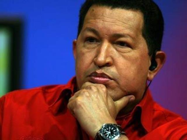 Chávez fala sobre Líbia