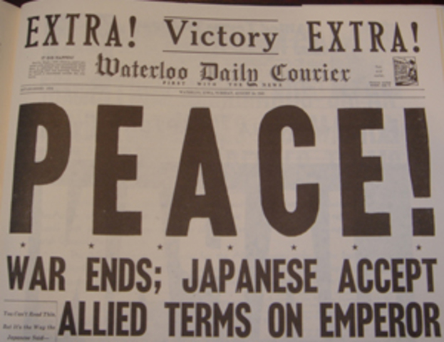 Japan Surrenders - The End of WW2