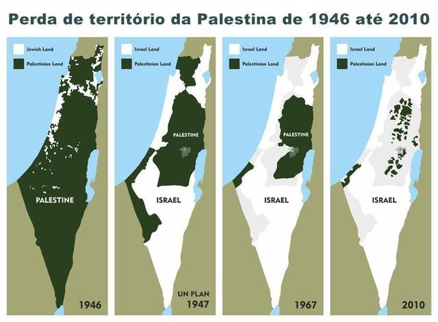 Israel e Palestina - Acordo de paz naufraga