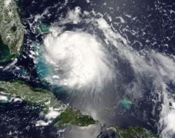Texas' first Hurricane