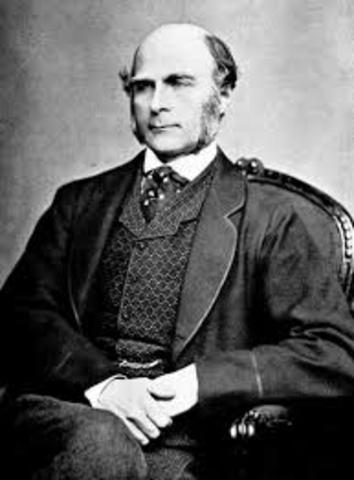 1884. Francis Galton