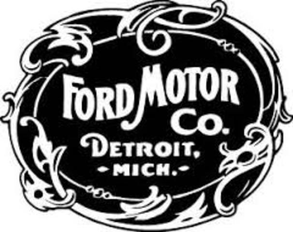 Creation of the Ford Motor Company