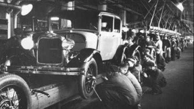 Ford introduces the Assembly Line