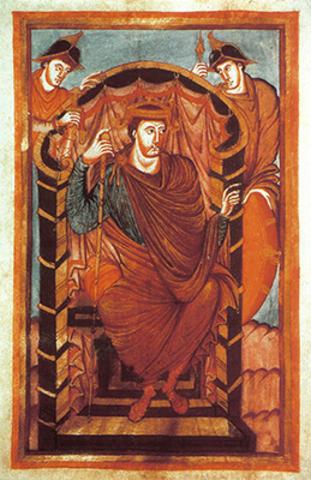 Lothaire Ier approuve le monastère