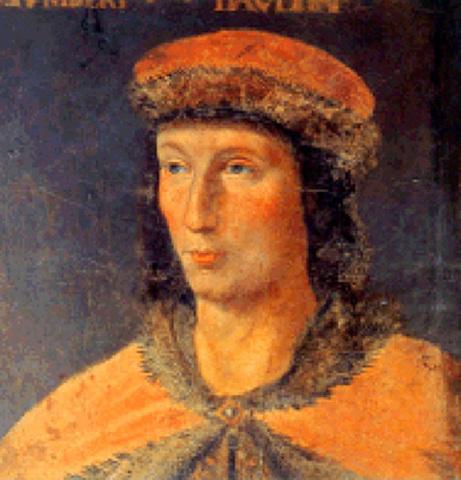 Humbert II cède le Dauphiné