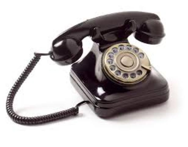 TELEFONO ANTIGUO MARCA COMERCIAL D F G