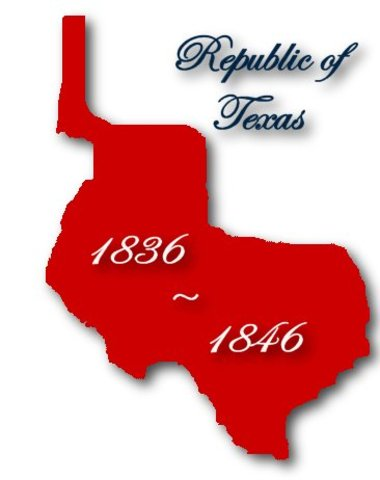 Republic of Texas is officially recognized by the United States