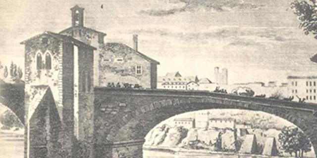 Le pont Vieux est emporté