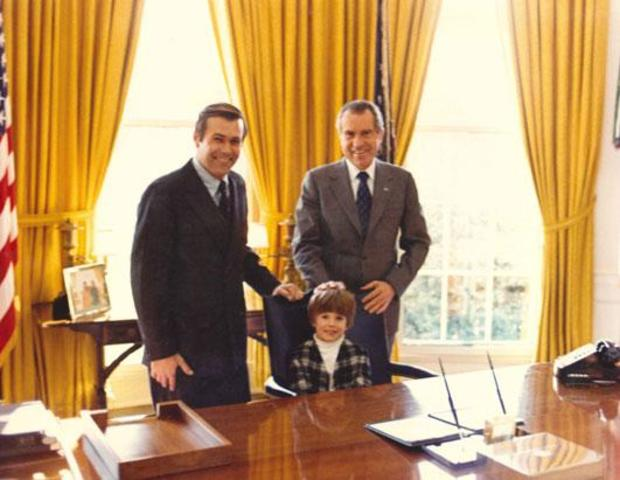 Nixon nominates Rumsfeld as the Director of the Office of Economic Opportunity