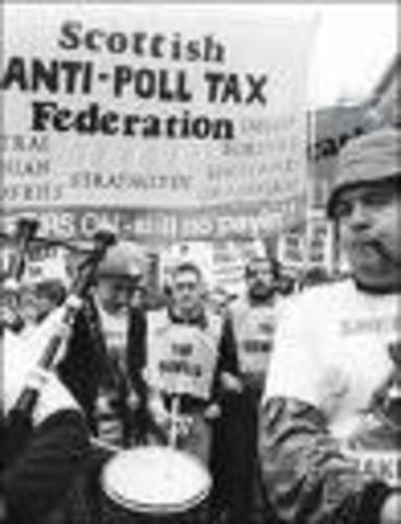 Poll tax abolished
