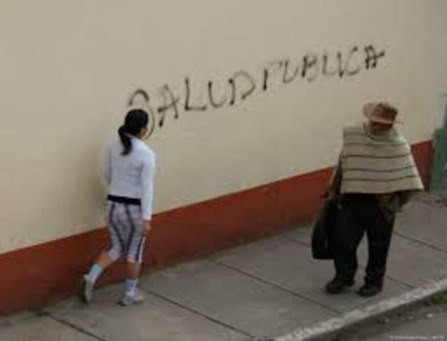 SALUD PUBLICA COLOMBIA