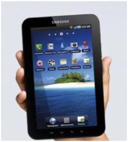Samsung lanza su 'tablet'