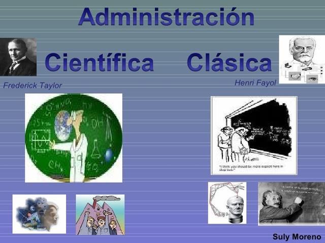 TEORIA: La administración como ciencia.