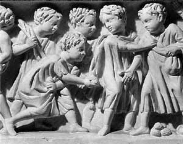 Concepción de infancia en la Antigüedad