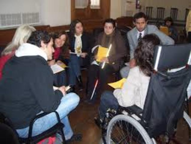 la ley para Estadounidenses con discapacidades
