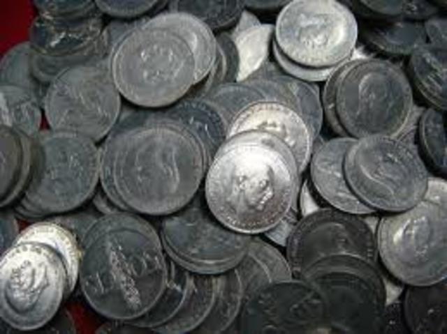 Monedas de aluminio