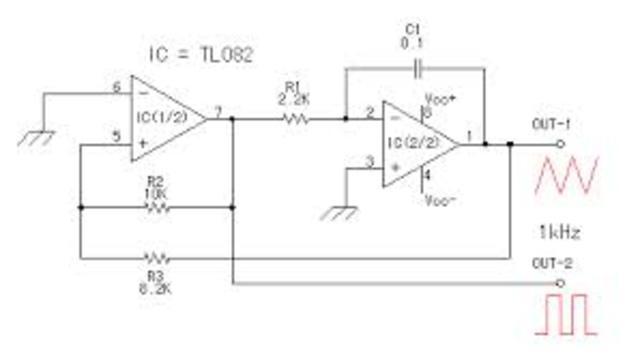 Primer circuito oscilador
