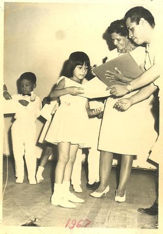 Certificado de Jardín de Niños Mi primer logro académico,