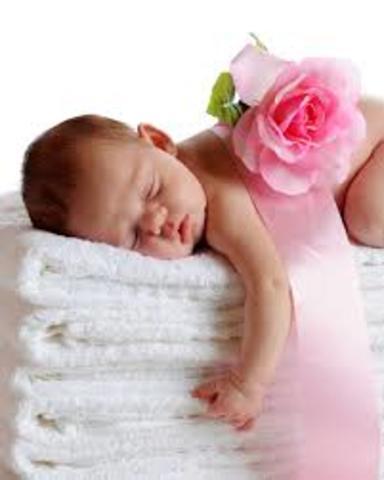 Nacimiento de mi nieta