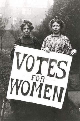Women in Victoria vote