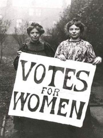 Second rederation and Western Australia women vote