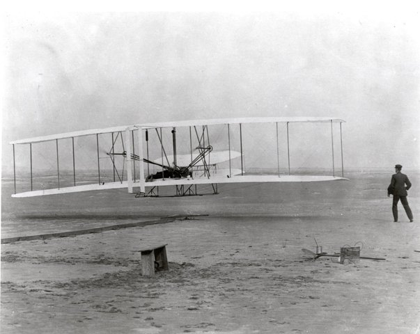 First Military Air Flight