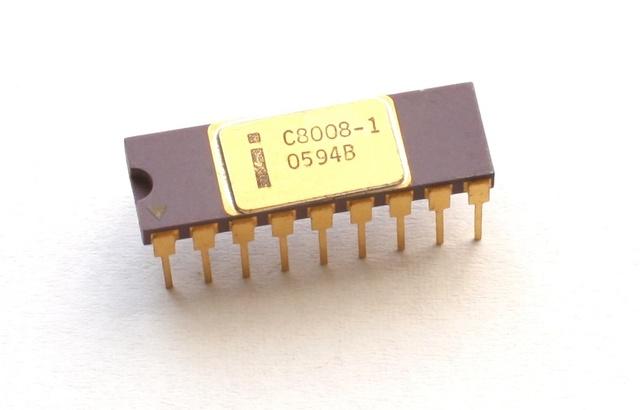Procesador intel 8008