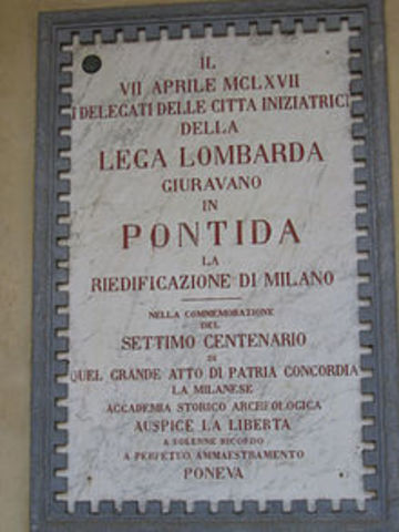 Derecho Comercial: Liga Lombarda