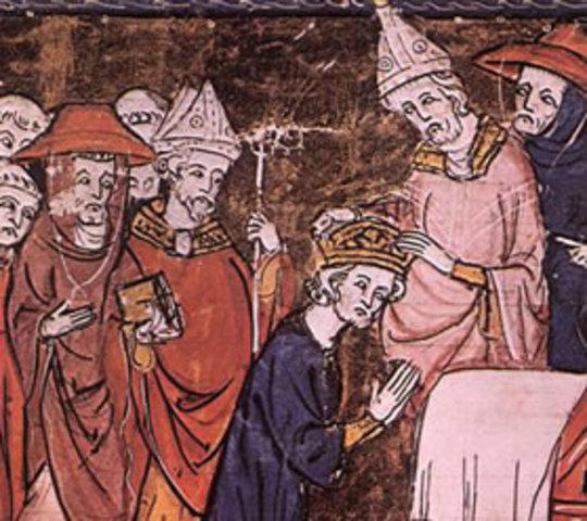 Político: Coronación de Carlomagno
