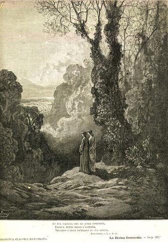 Arte: Dante termina su Divina Comedia