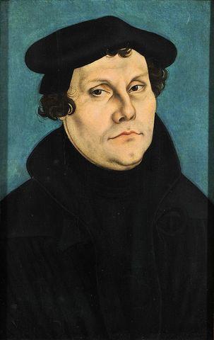 Política: Martín Lutero publica sus 95 tesis en Wittenberg
