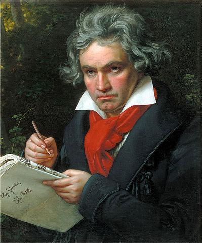 Música: Beethoven finaliza su novena sinfonía